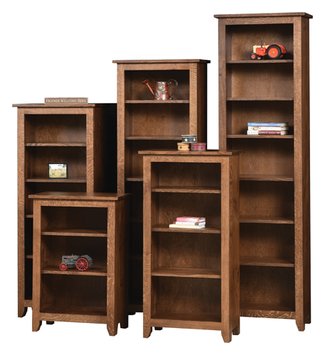 "24"" x 36"" Modern Mission Bookcase -"